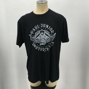 Next Level Apparel VTG T Shirt Paul Jr Motorcycles